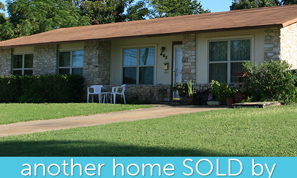 SOLD: Great Location near the Most Beautiful Town Square in Texas!